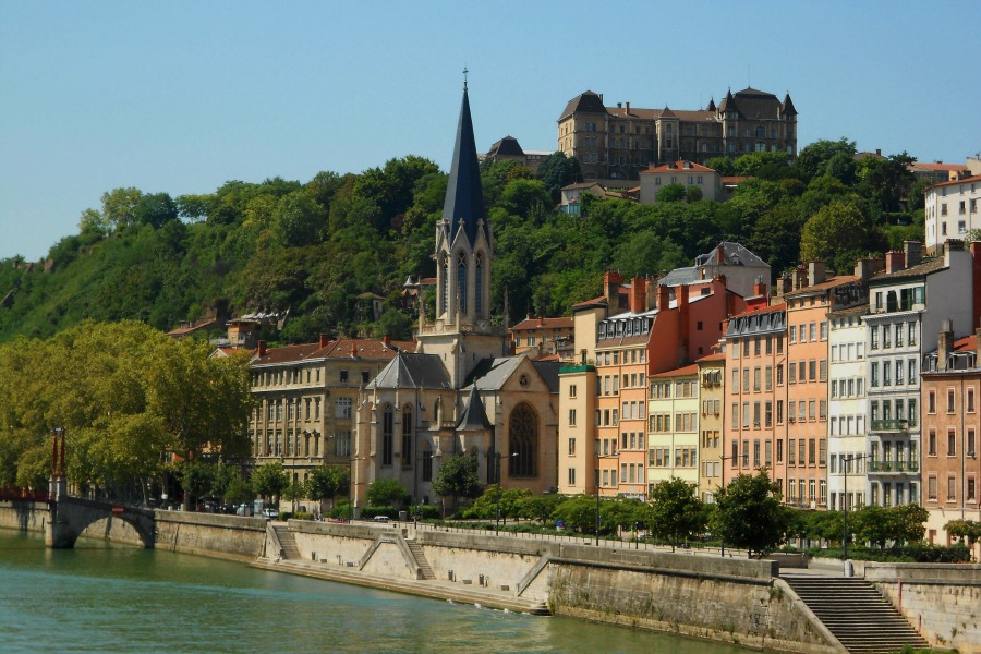 Lyon France via Food, Booze, & Baggage
