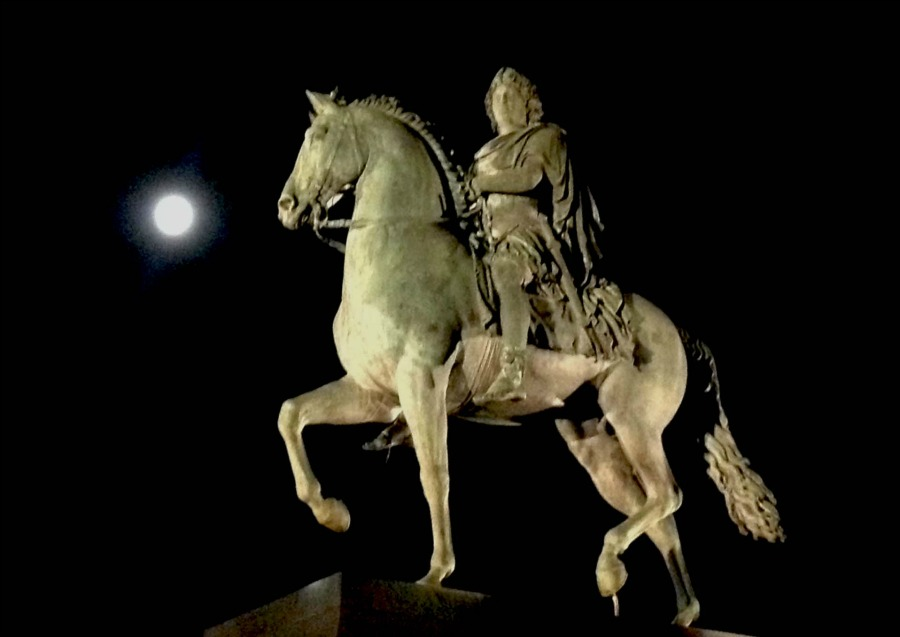Lyon Horse Statue