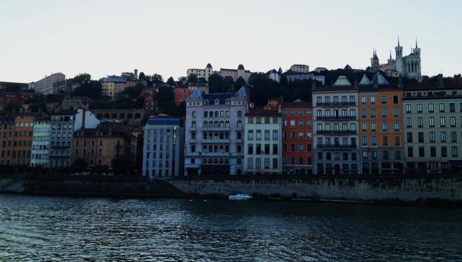 Lyon river front II