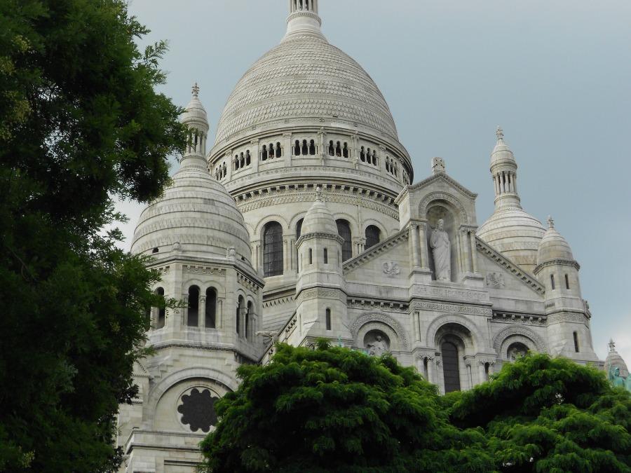 Basilica of Sacre-Coeur via Food, Booze, &  Baggage