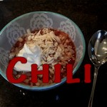 Chili via Food, Booze, & Baggage