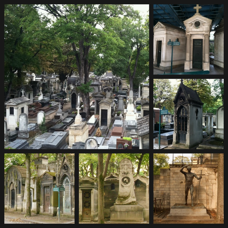 Montmartre Cemetery via Food, Booze, & Baggage