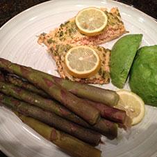 Salmon via Food, Booze, & Baggage