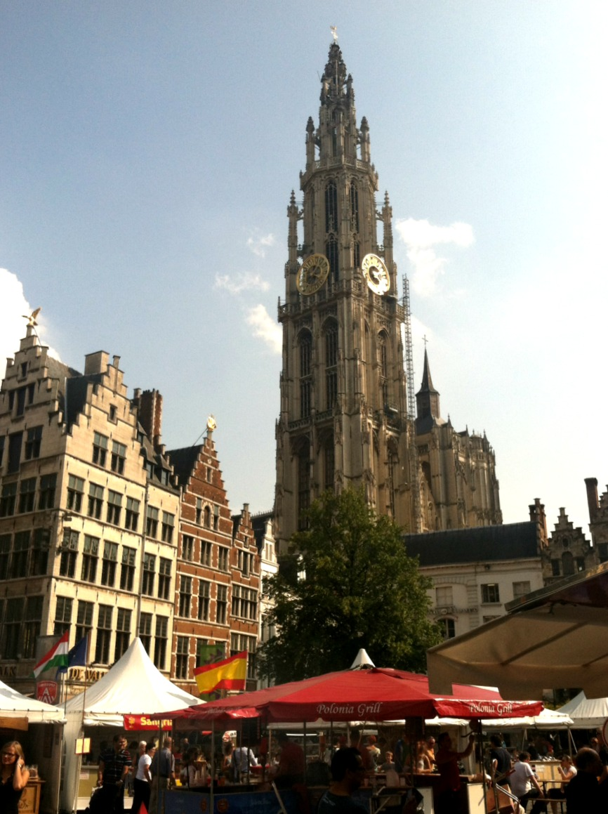 Antwerp Market via Food, Booze, & Baggage