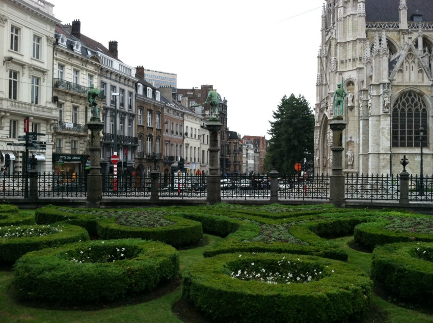 Garden in Brussels via Food, Booze, & Baggage