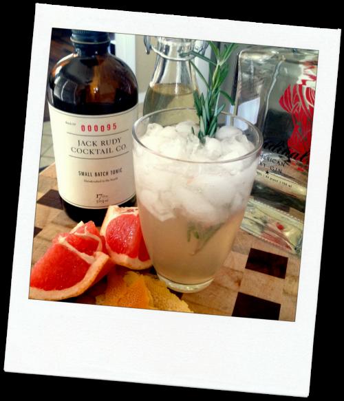 South Street Gin & Tonic via Food, Booze, & Baggage