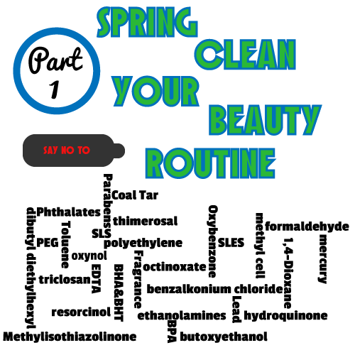 Spring-Clean-Your-Beauty-Routine Part 1 via Food, Booze, & Baggage