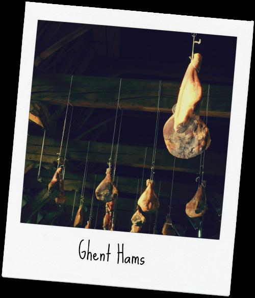 hams in ghent via Food, Booze, & Baggage