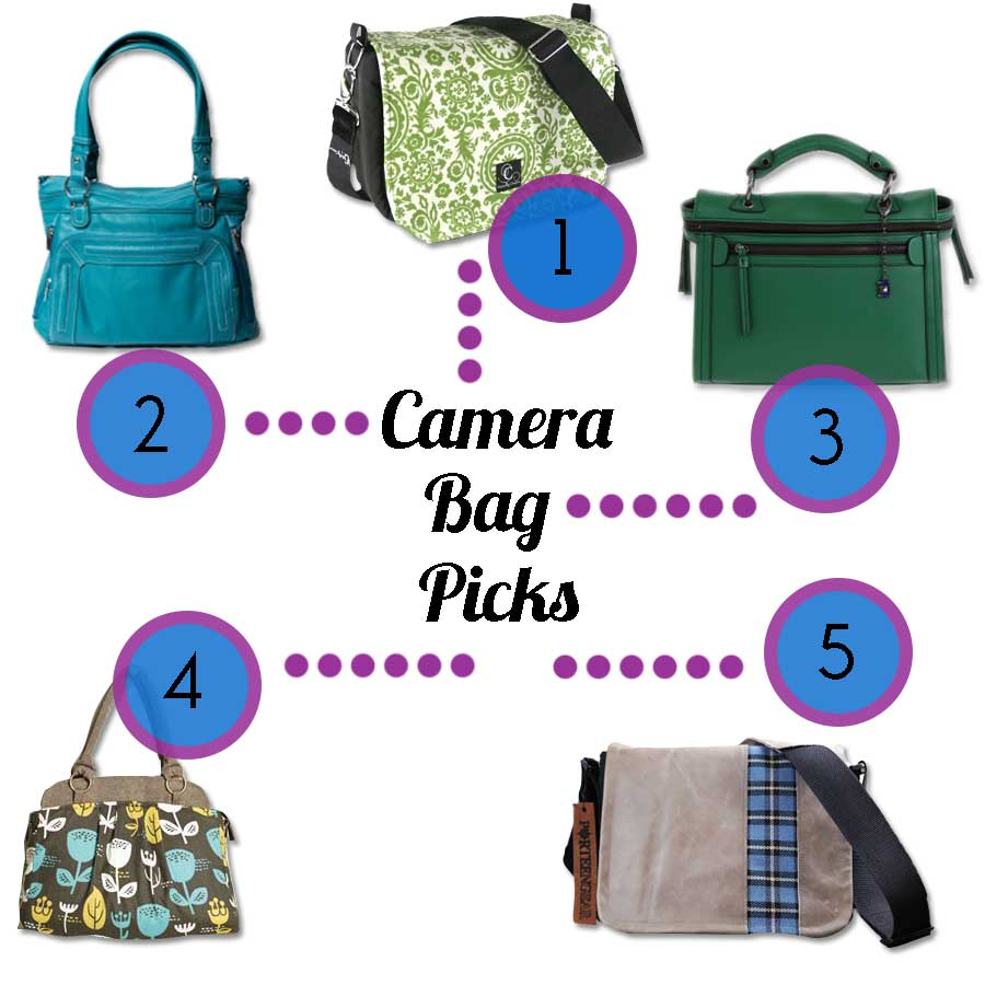 Food Booze & Baggage top five picks for camera bags