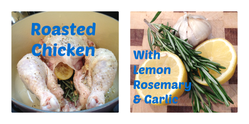 Roasted Chicken via Food, Booze, & Baggage