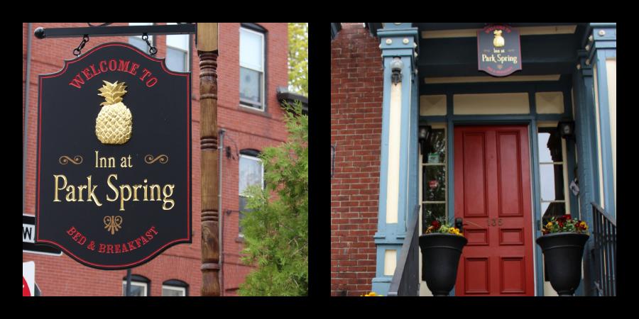 Inn at Park Spring via Food, Booze, & Baggage