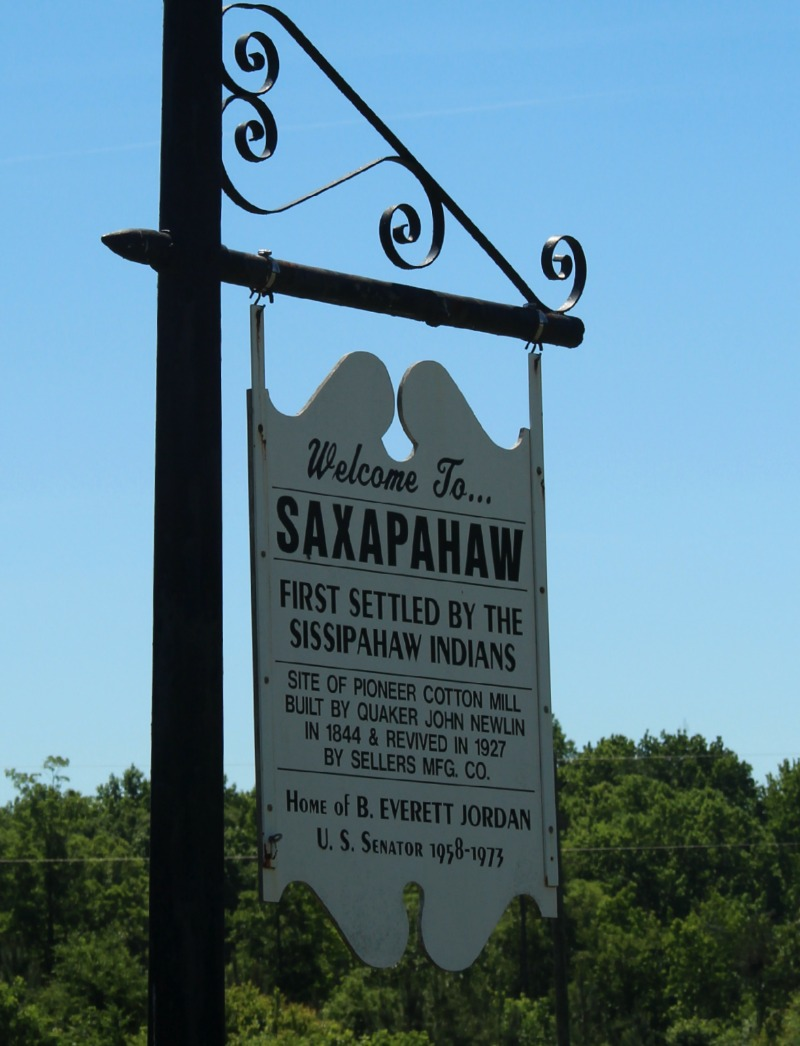 Welcome to Saxapahaw via Food, Booze, & Baggage