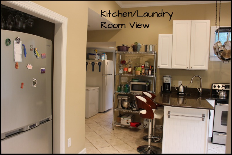 Kitchen Laundry Room View