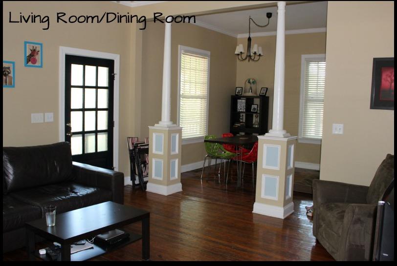 Living Room & Dining Room Veiw