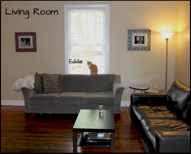 Living Room via Food, Booze, & Baggage