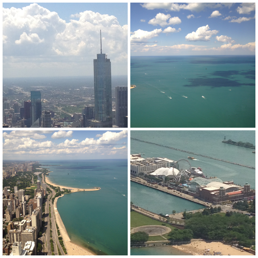 96th floor lounge views by Food, Booze, & Baggage