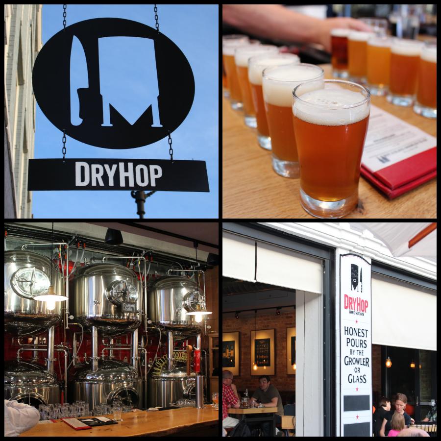 DryHop Brewery via Food, Booze, & Baggage