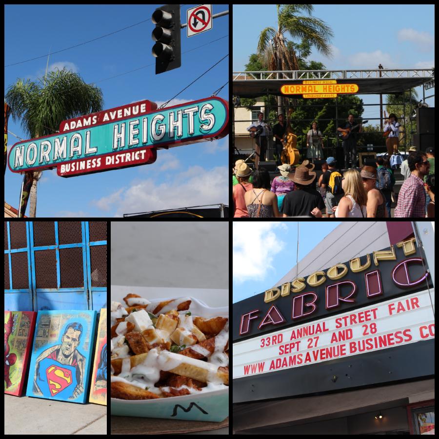 Adam's Street Fair San Diego