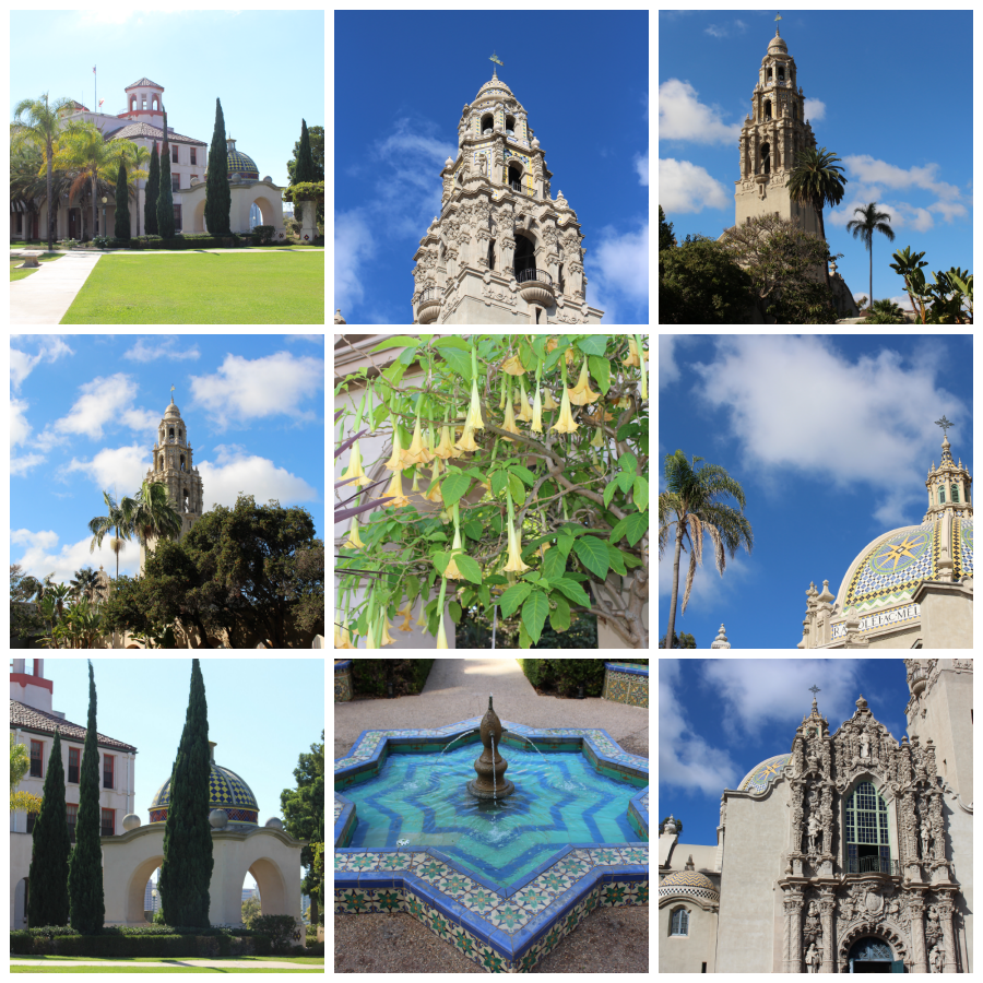 Balboa Park via Food, Booze, & Baggage