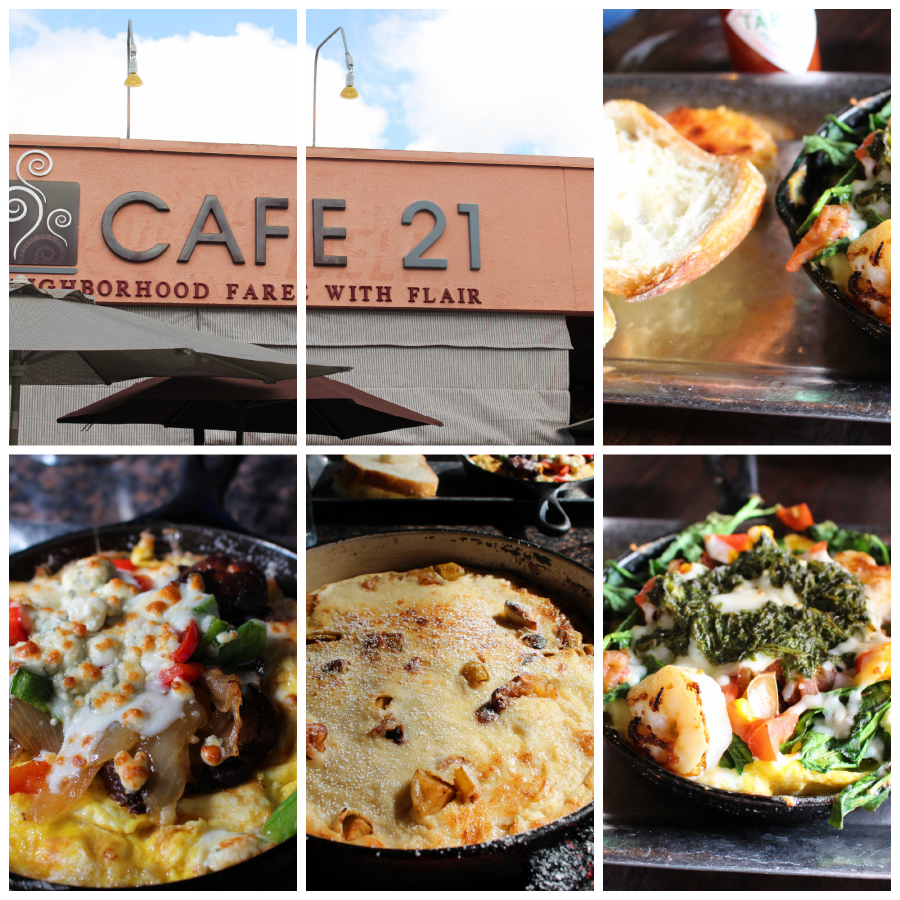 Cafe 21 via Food, Booze, & Baggage