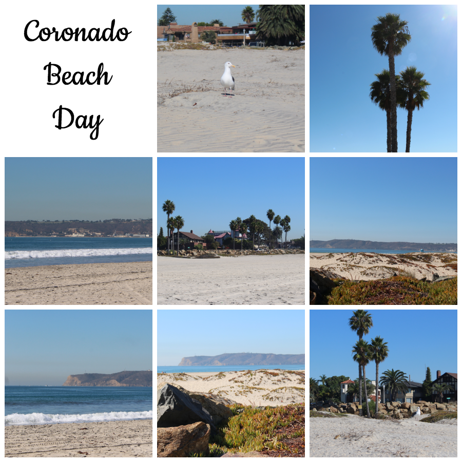 Coronado Beach Day via Food, Booze, & Baggage