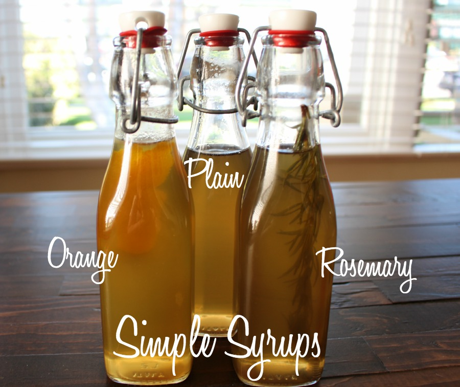 Simple Syrup for Holiday Drinks