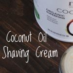 DIY Coconut-Oil-Shaving-Cream