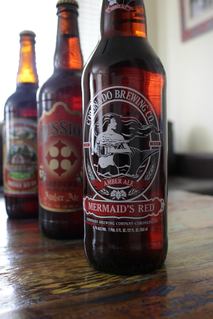 Coronado Brewing Mermaid's Red