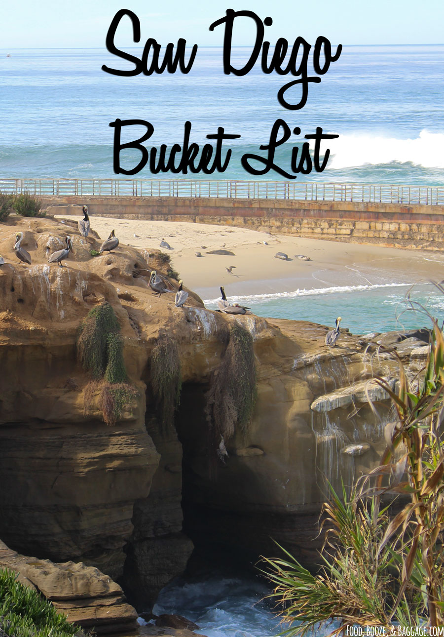 San Diego Bucket List | Food, Booze, & Baggage