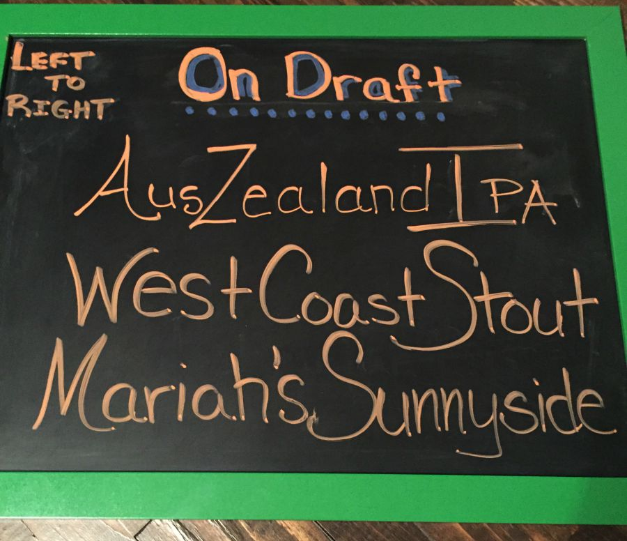 Draft List not chalkboard lettering