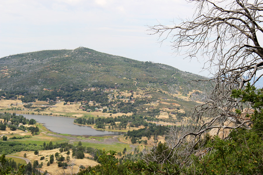 Lake View from Cuyamaca Rancho Par