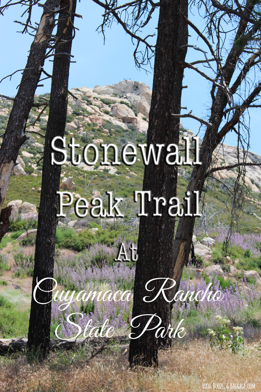 Stonewall Peak Trail at Cuyamaca Rancho