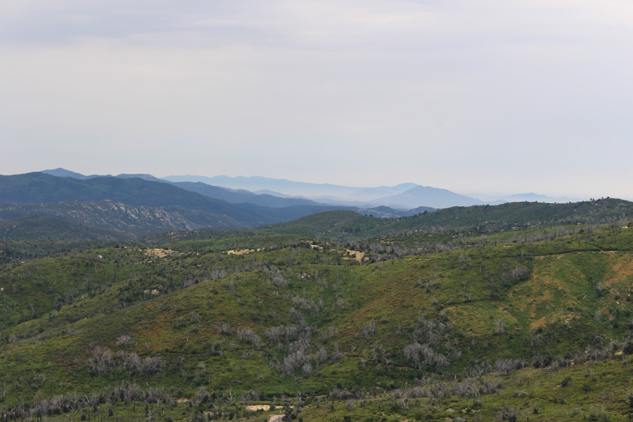 View of Mountains from Stonewall Peak
