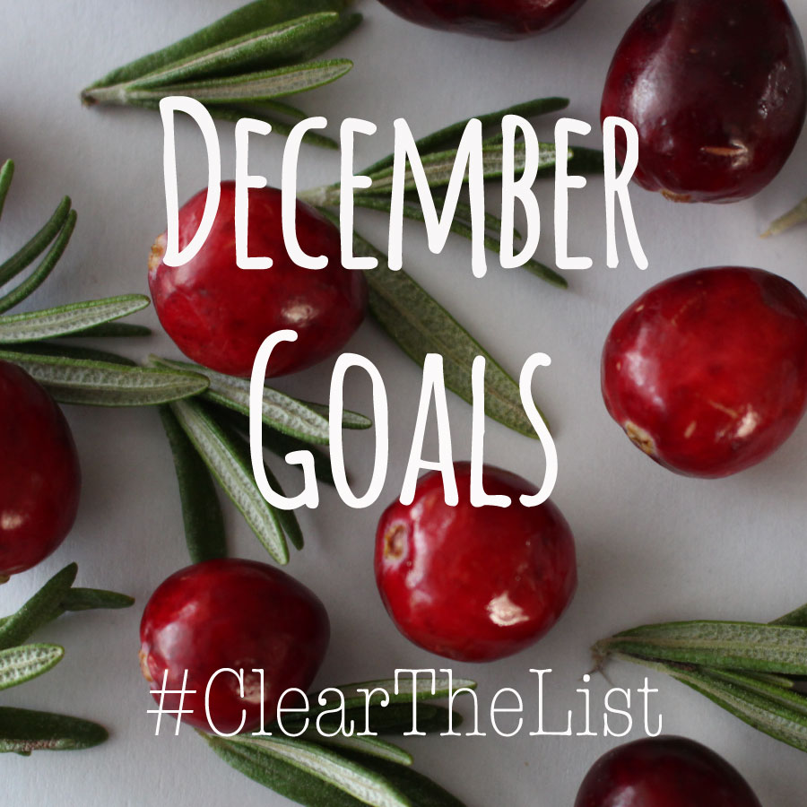 Clear-The-List-December-Goals