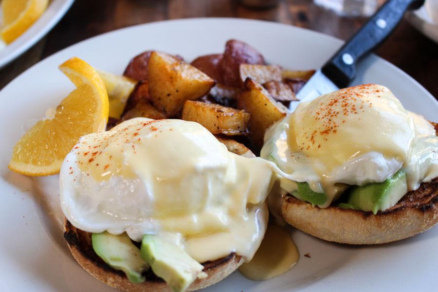 General Store Breakfast Benedict