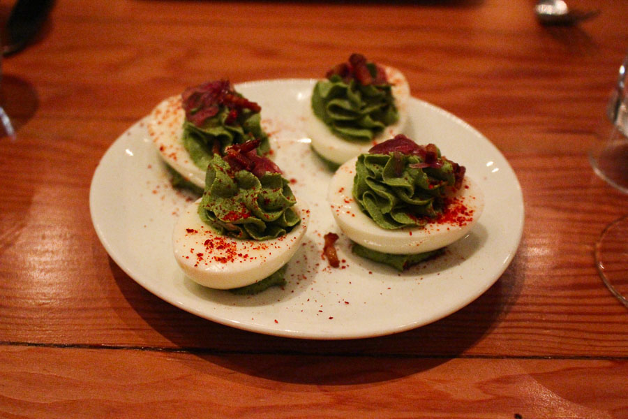 Torc Deviled Eggs