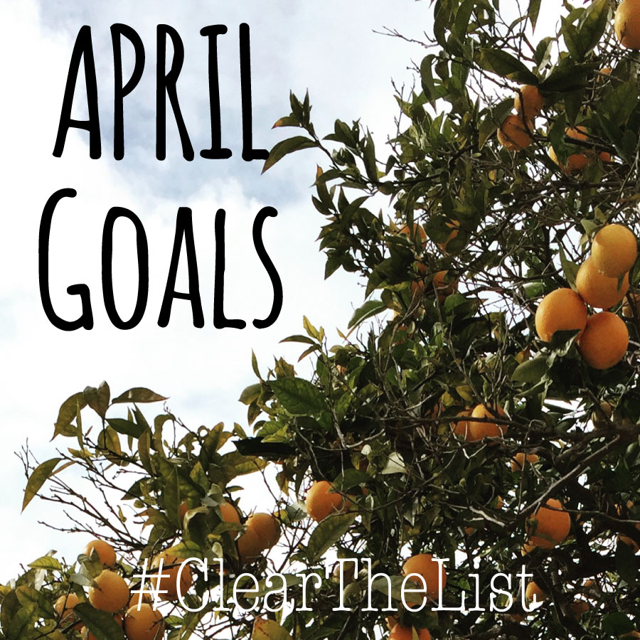 Clear The List: April 2016