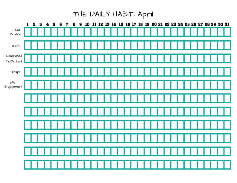 Daily-Habit-List-April