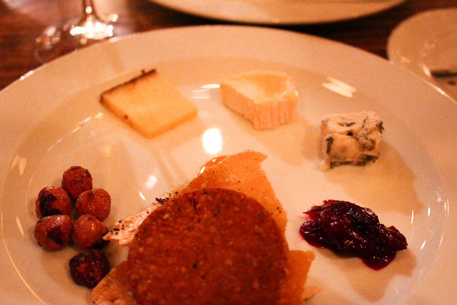 Beast Course 5, Cheese Plate, Portland Oregon