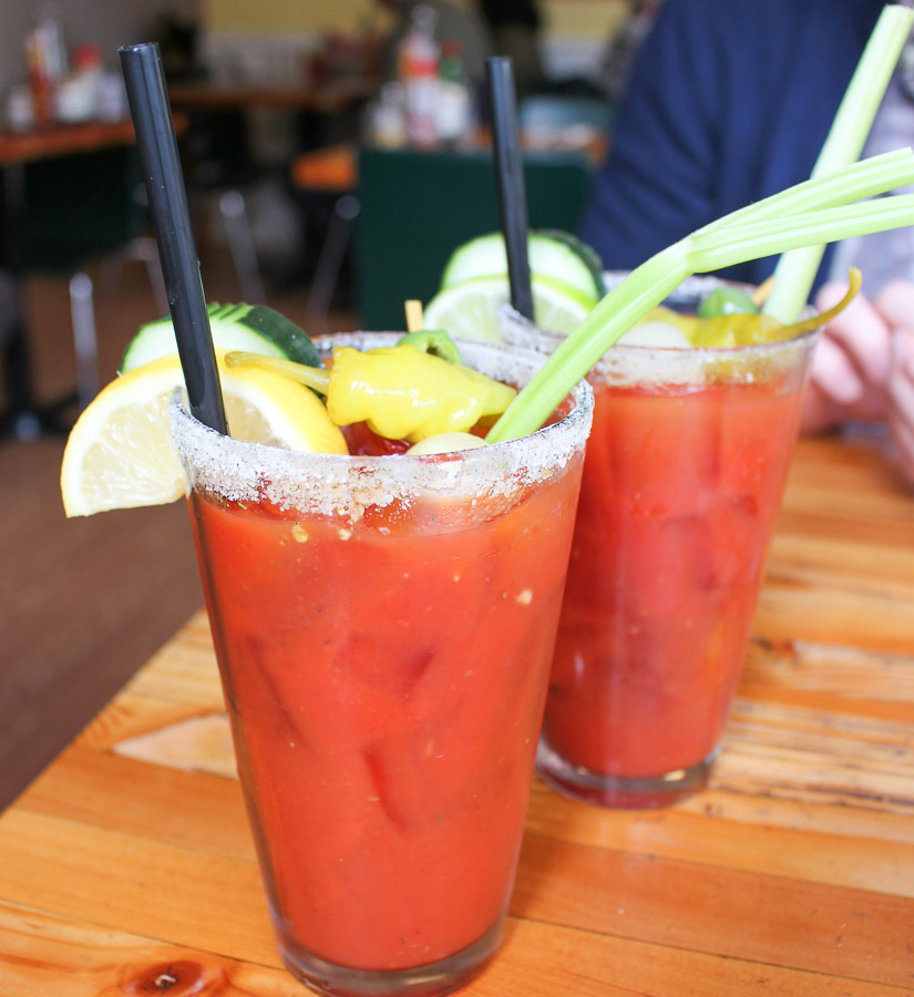 Genie's Breakfast bloody mary