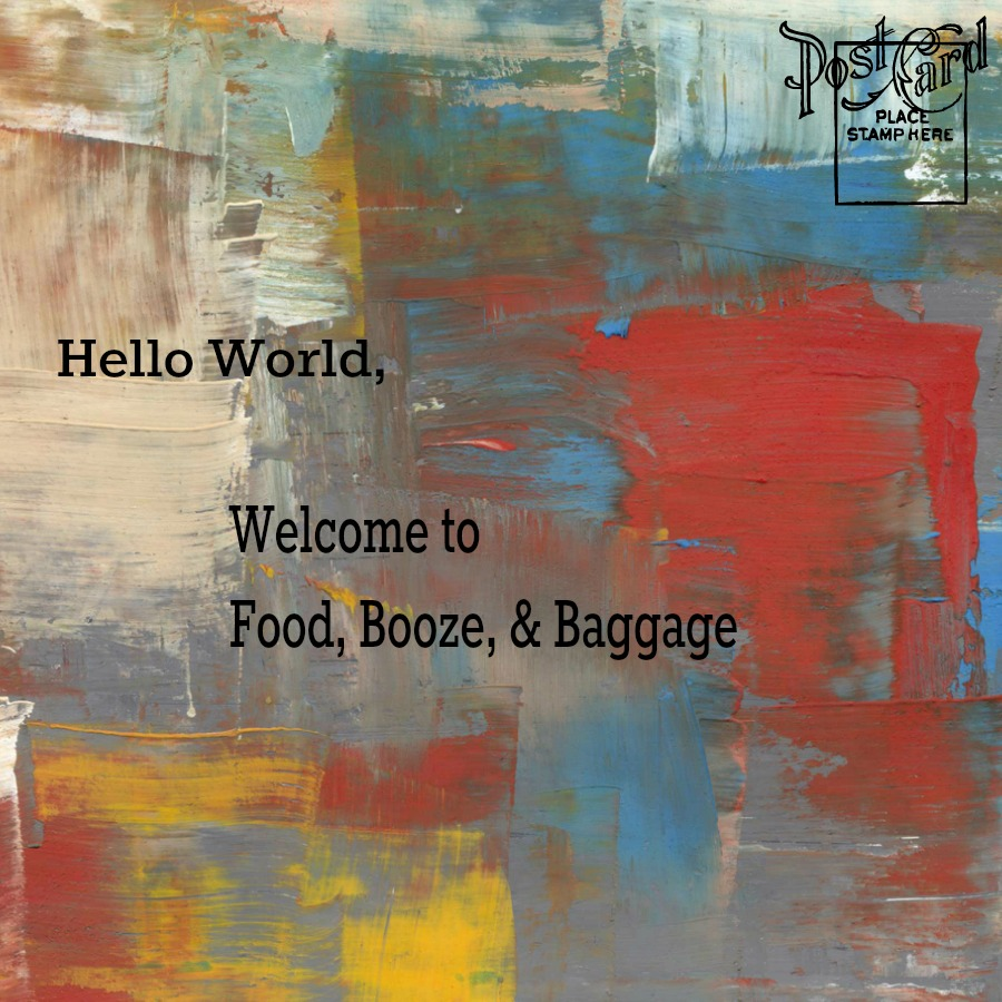 Food Booze and Baggage