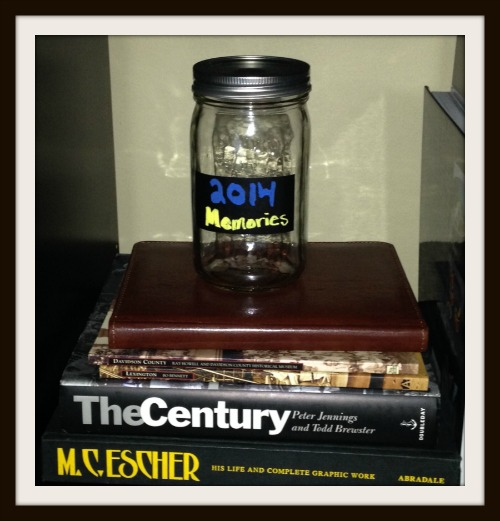 Memory Jar via Food, Booze, & Baggage