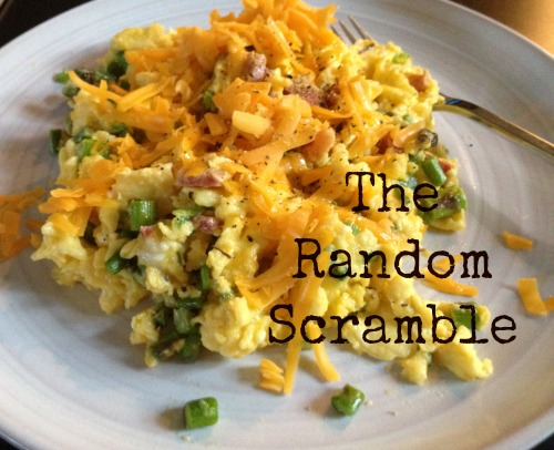 The Random Scramble via Food, Booze, & Baggage