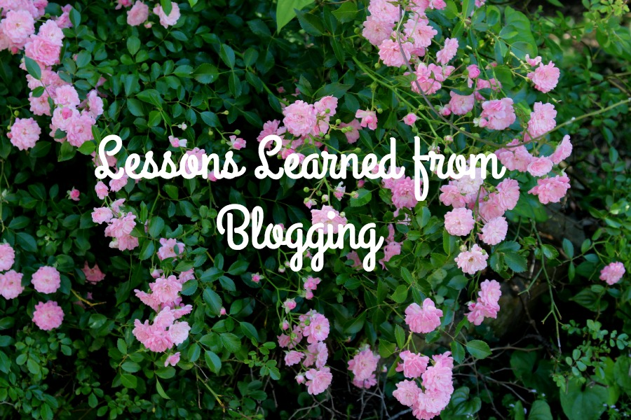 Lessons learned from Blogging