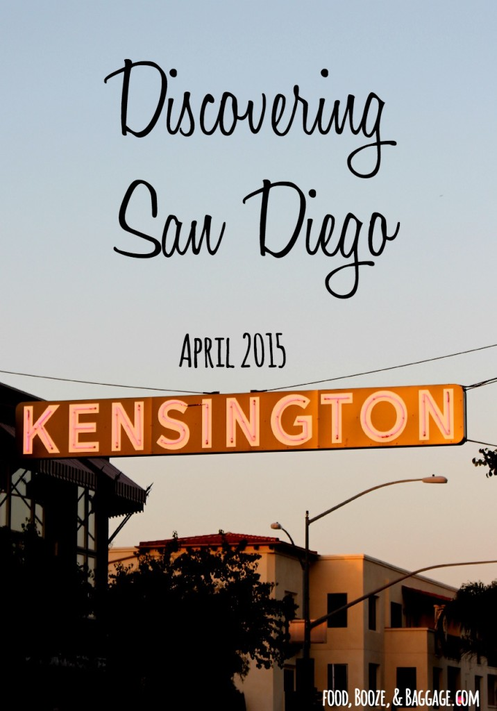 Discovering San Diego April 2015