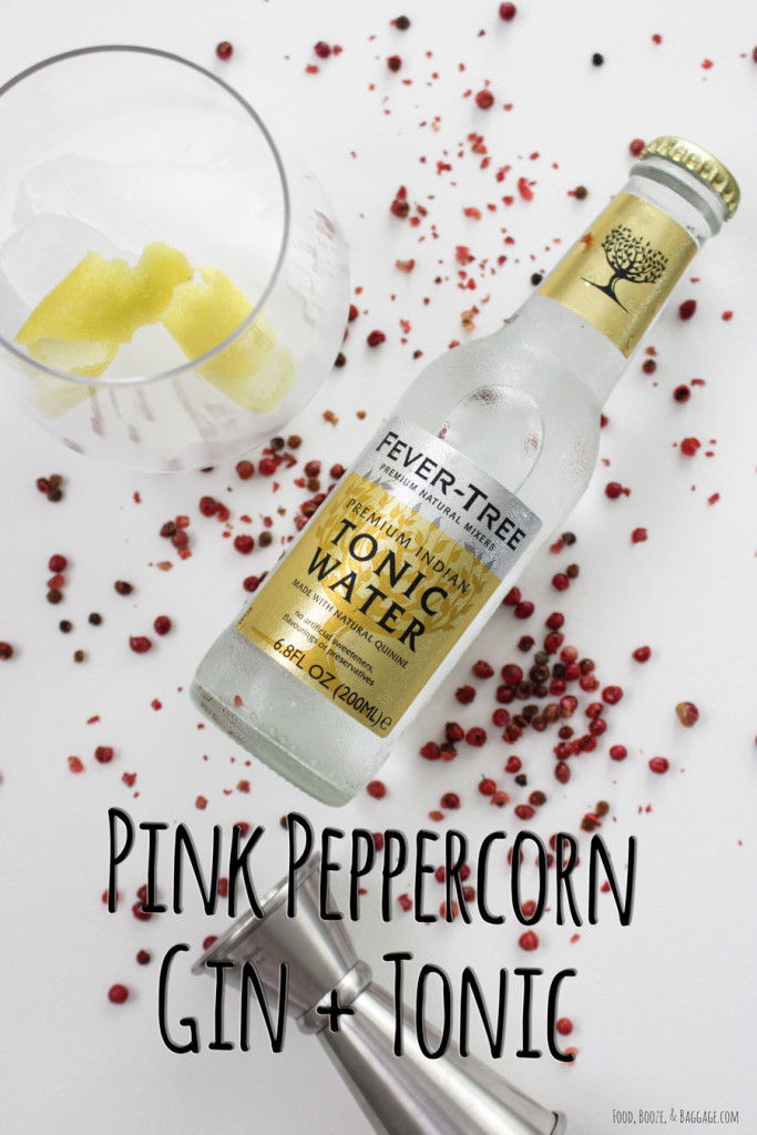 Pink Peppercorn Gin+Tonic